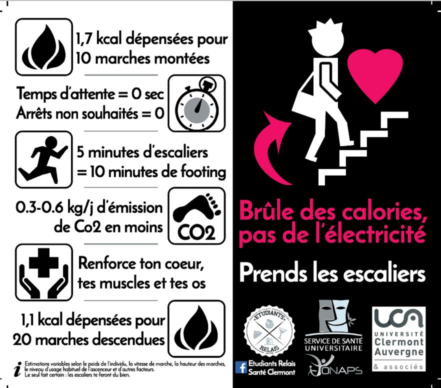Brûle des calories, pas de l'électricité !