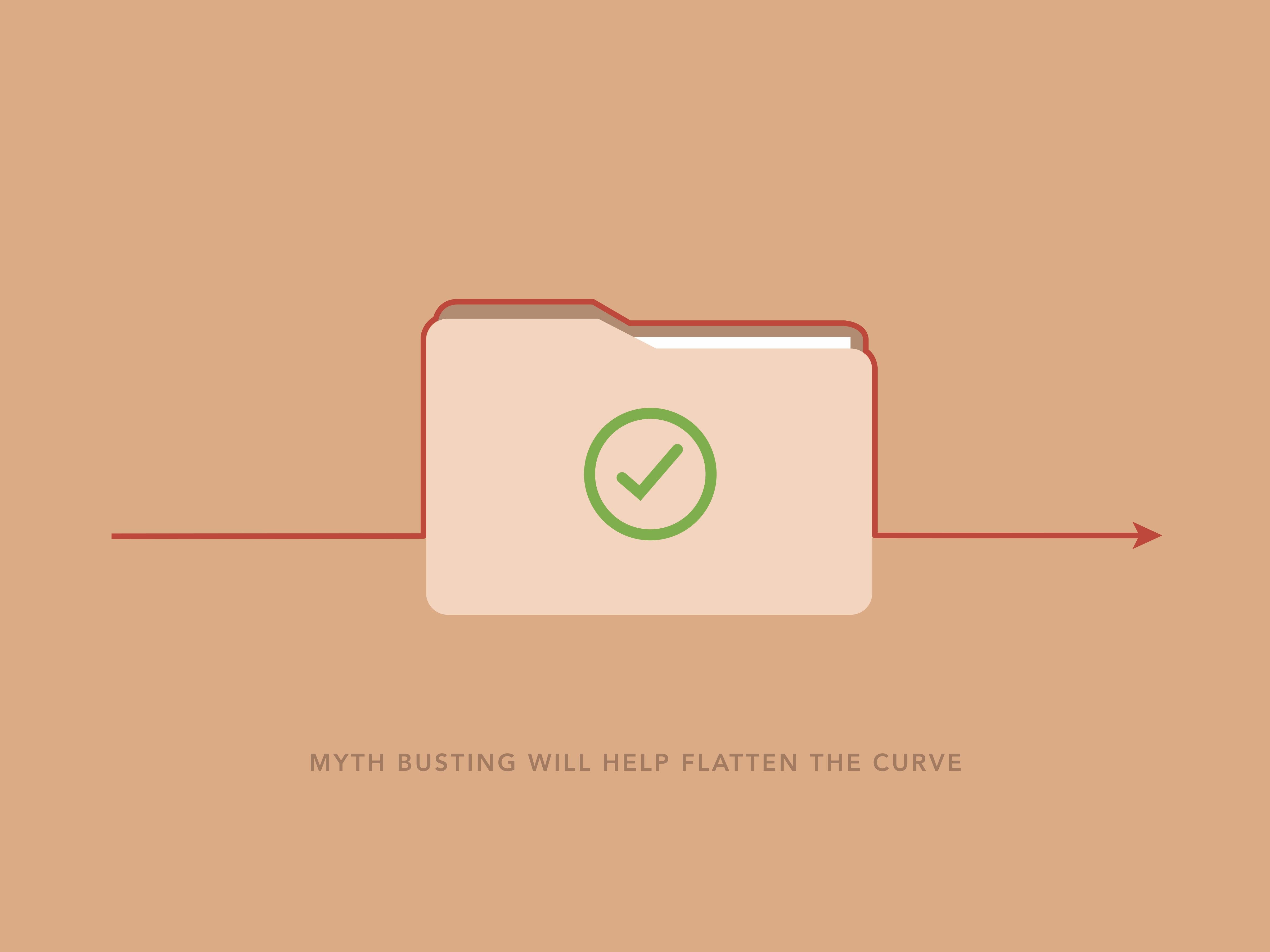 Myth busting will help flatten the curve / L'élimination des mythes aidera à aplatir la courbe